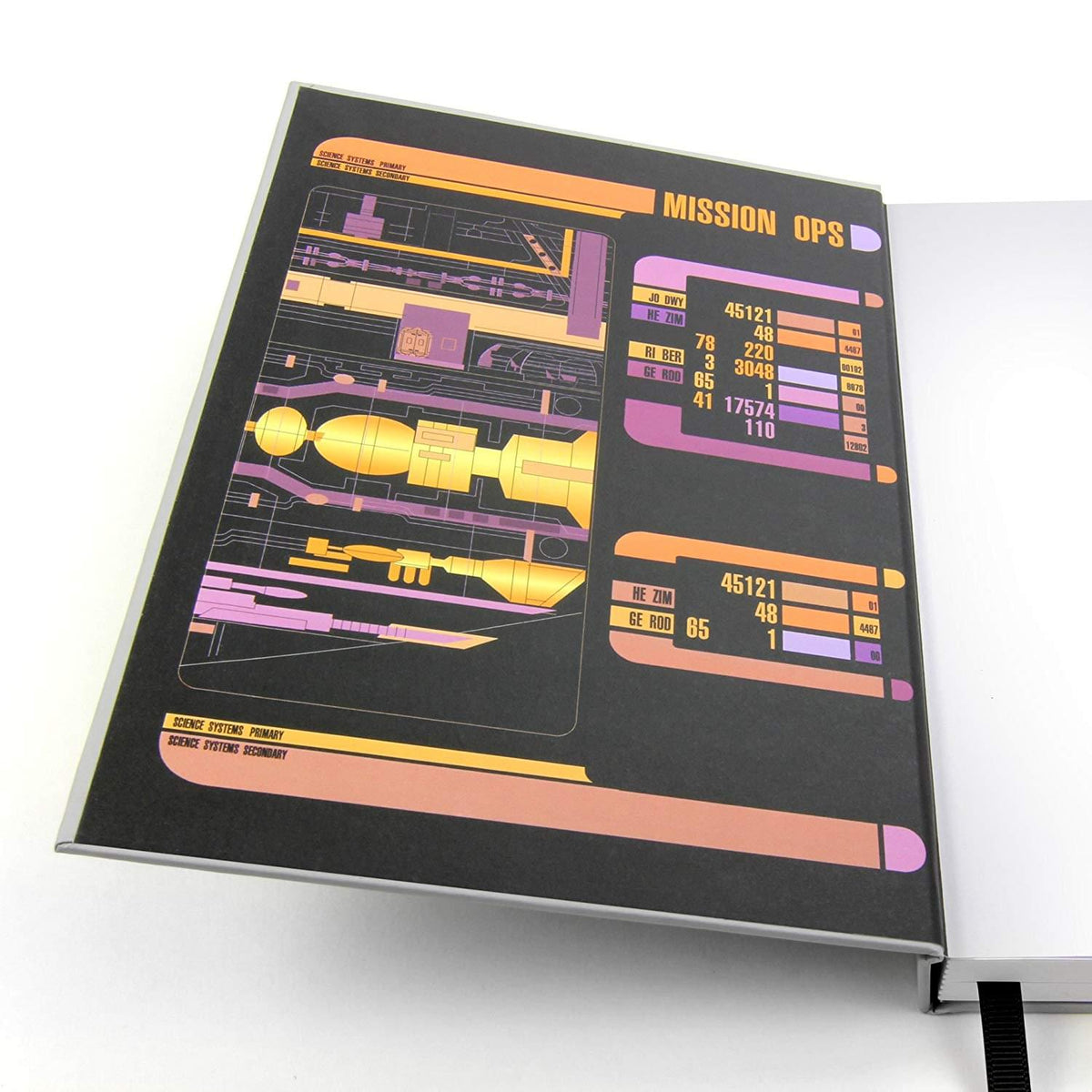 Star Trek: The Next Generation PADD Hard Cover Journal
