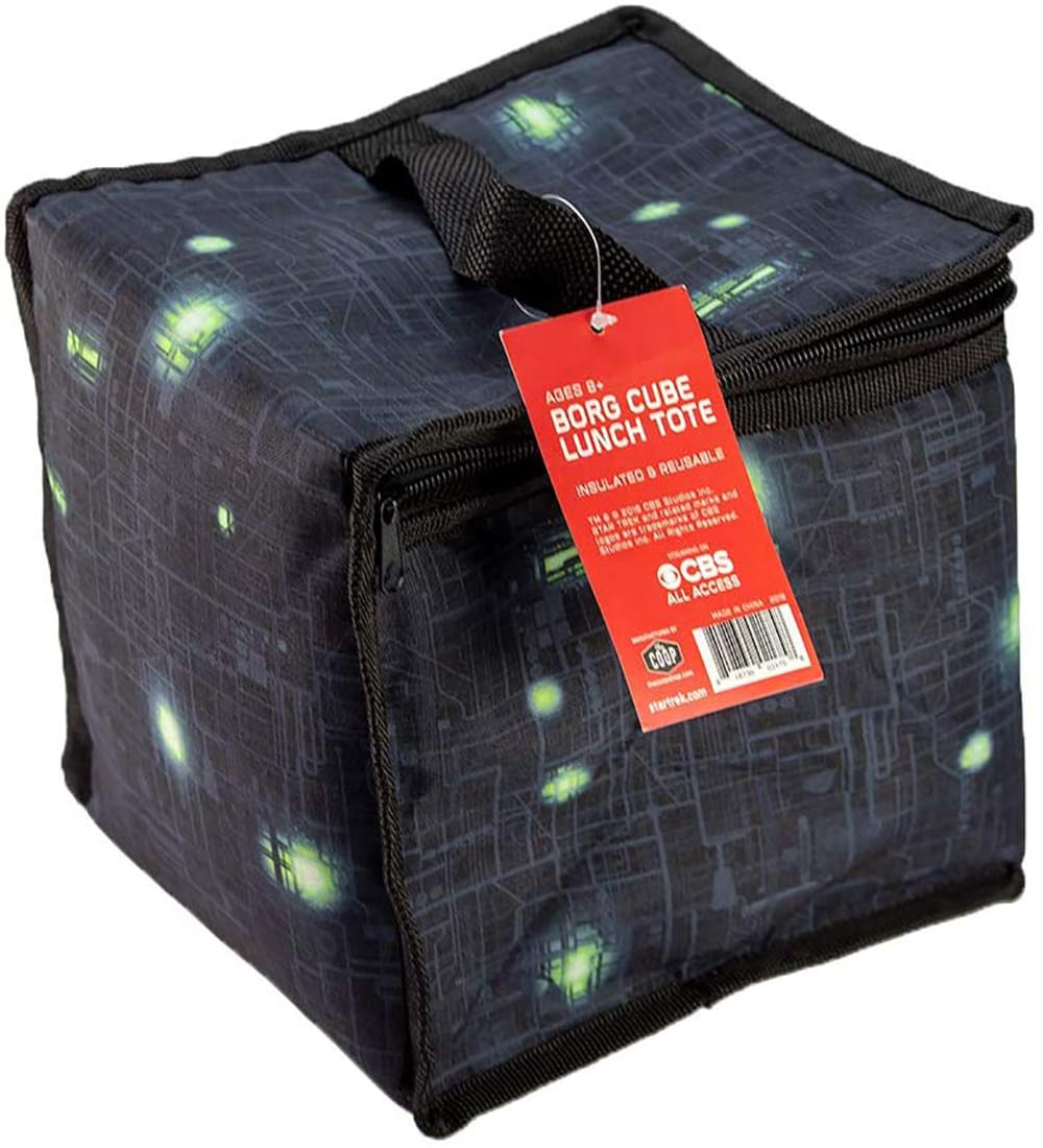 Star Trek The Next Generation Borg Cube Lunch Tote