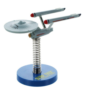 Crowded Coop Star Trek NCC-1701 Enterprise Boingler Bobble Head