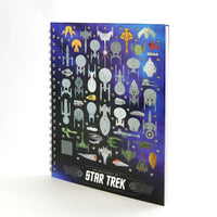Star Trek Spacecraft Hardcover Notebook