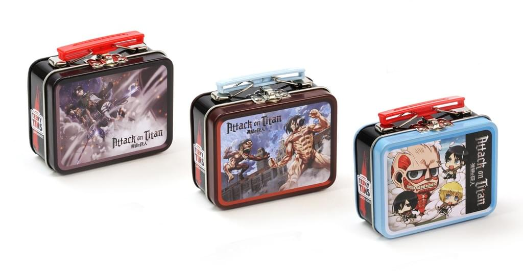 Attack on Titan Teeny Tin Lunch Box, Set of 3 Random Designs