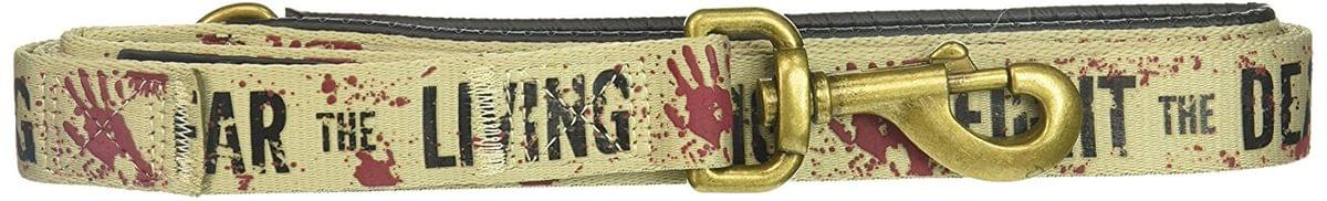 "The Walking Dead ""Fight the Dead, Fear the Living"" 5ft. Dog Leash"
