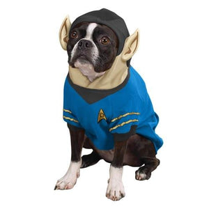 Star Trek Spock Dog Costume Hoodie Pet X-Large