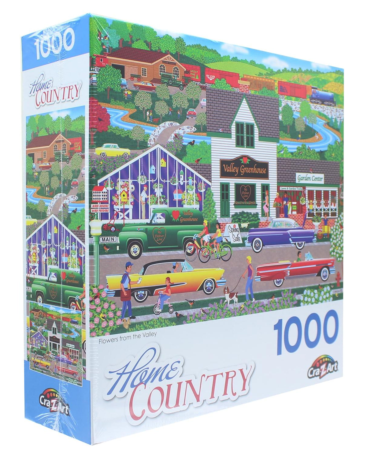 Flowers from the Valley 1000 Piece Jigsaw Puzzle