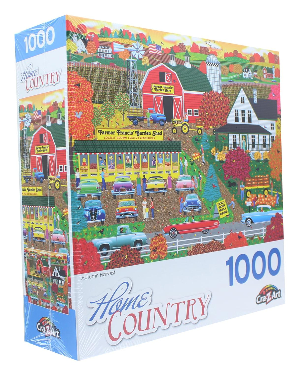 Autumn Harvest 1000 Piece Jigsaw Puzzle