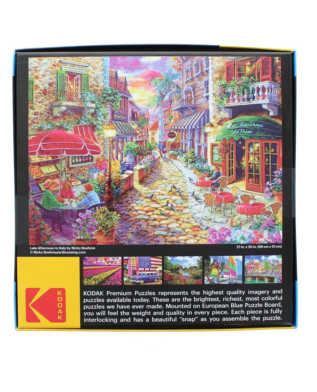 Late Afternoon in Italy 1000 Piece Jigsaw Puzzle