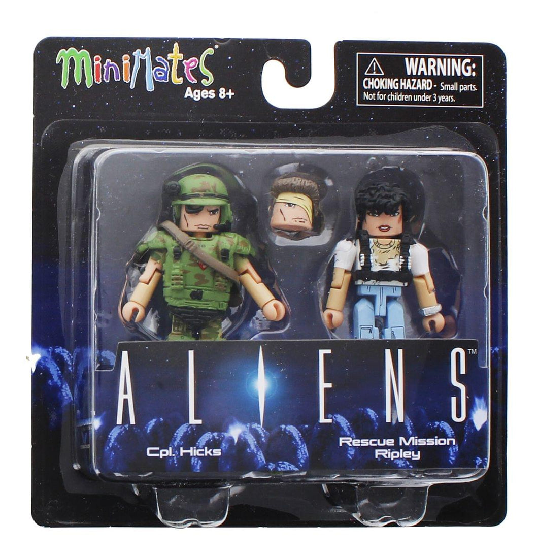 Aliens Cpl. Hicks & Rescue Mission Ripley 2-Pack Series 1 Minimates