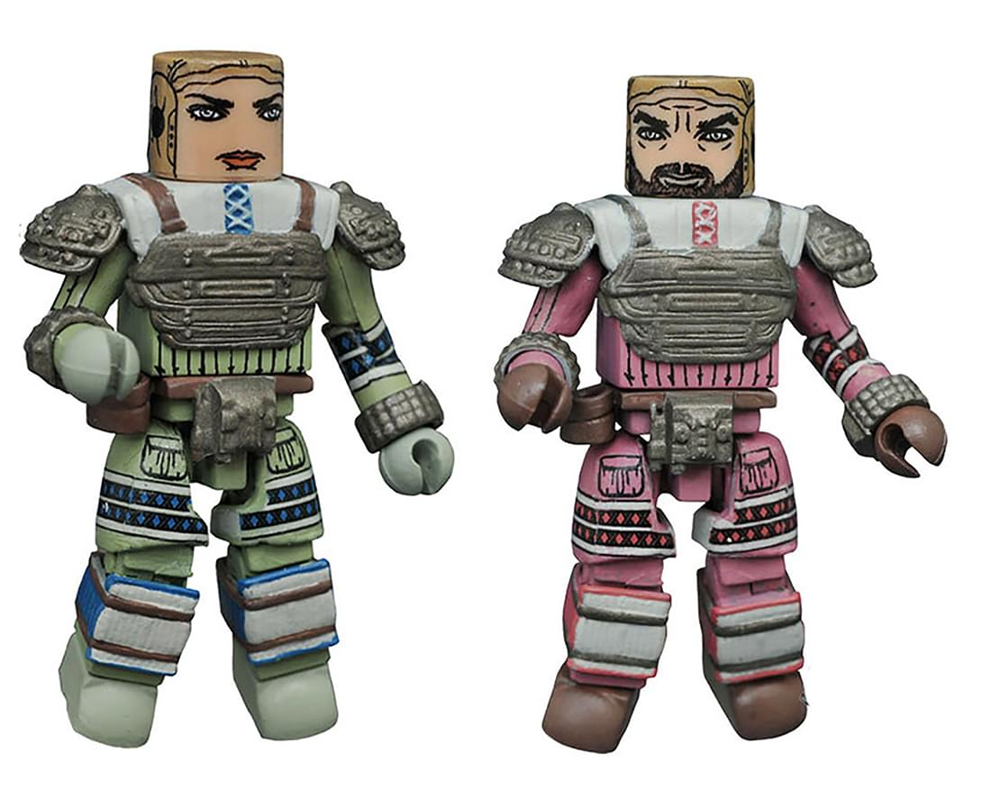 Aliens Minimates Series 3 2-Pack: Space Suit Dallas & Space Suit Lambert