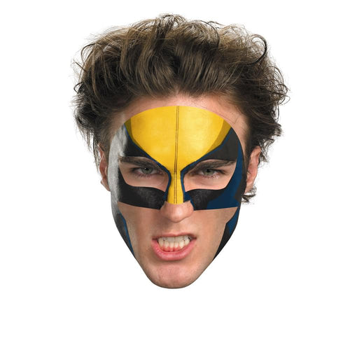 Wolverine Costume Face Tattoo