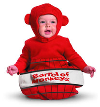 Load image into Gallery viewer, Barrel Of Monkeys Bunting Costume Infant