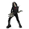 Metal Mayhem Goth Rocker Child Costume Tween