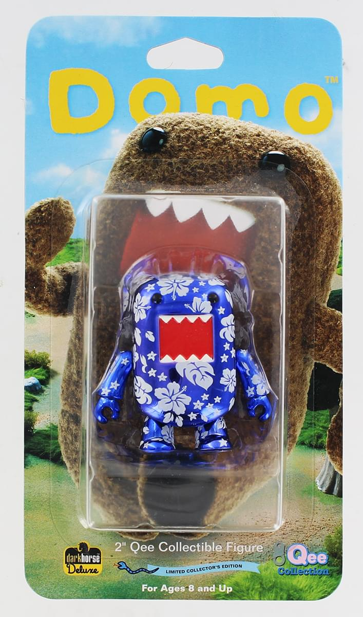 "Domo Qee Tropical Metallic Blue 2"" Mini Figure"