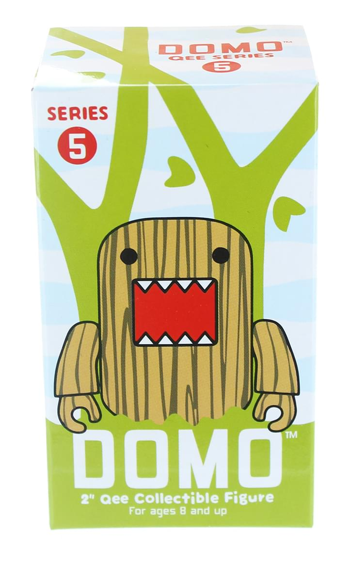 "Domo 2"" Qee Mystery Mini Figure: Series 5 Blind Box Case Of 15"