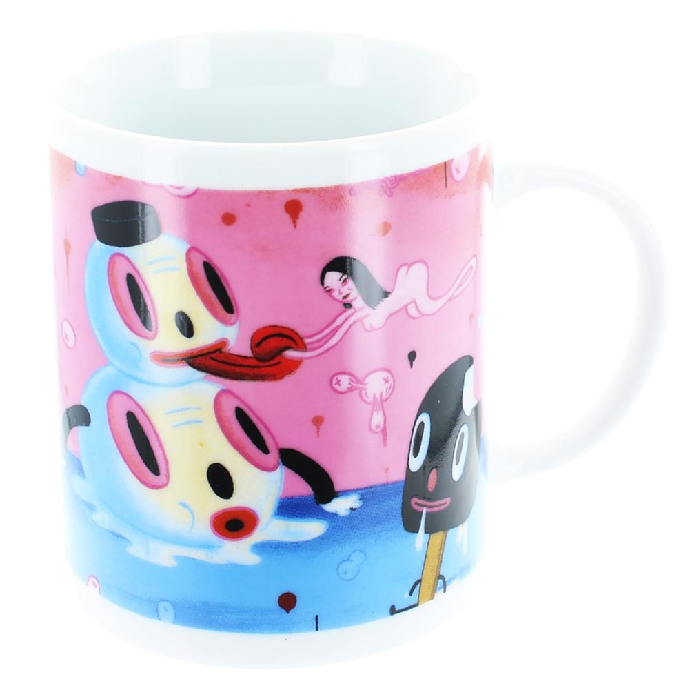 "Gary Baseman ""The Door Is Always Open"" 11oz. Coffee Mug"
