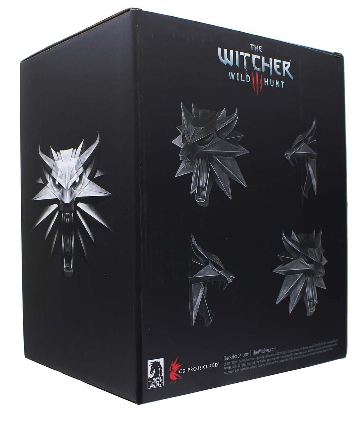 The Witcher 3 Wolf Medallion 8 Inch Resin Wall Sculpture