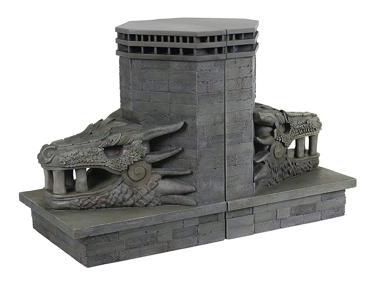 Game of Thrones Dragonstone Gate Dragon Bookends Set