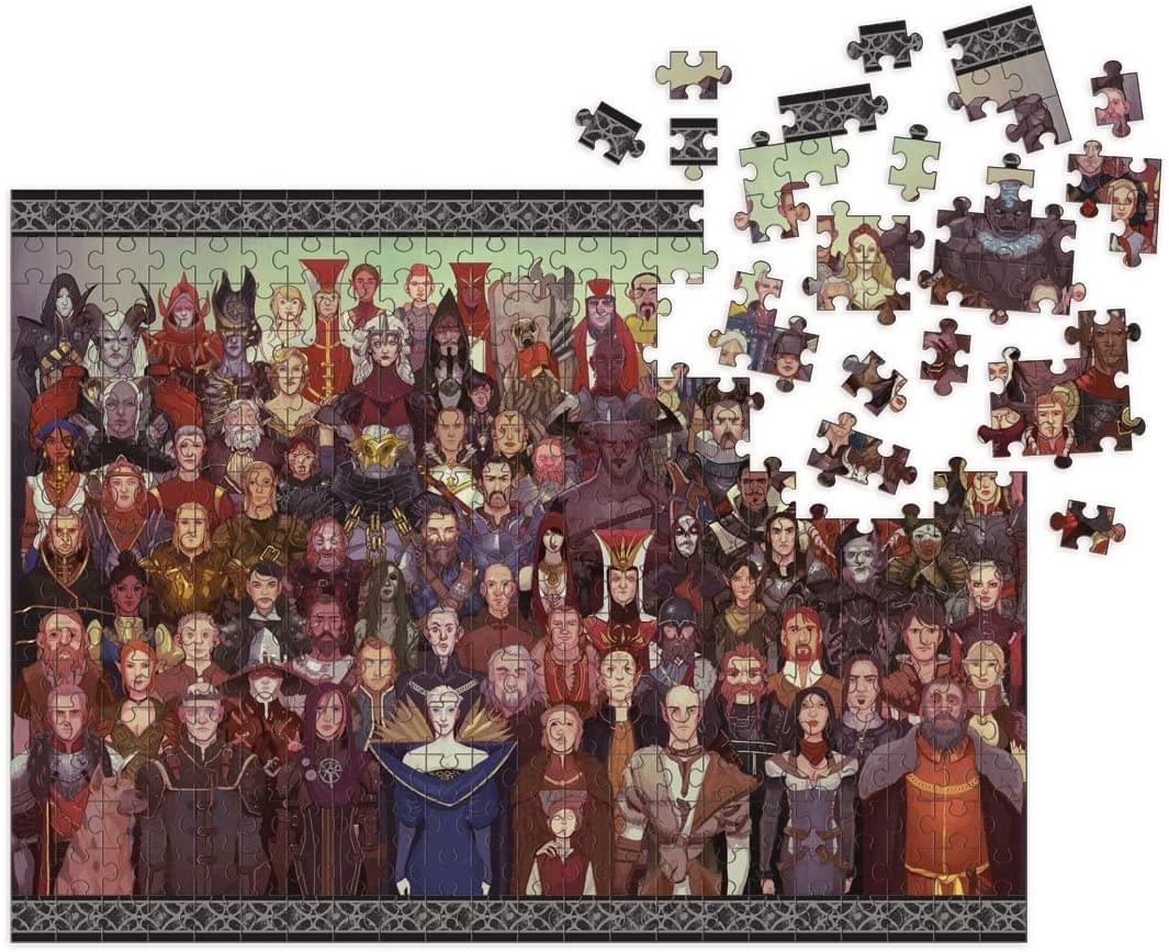 Dragon Age: Cast of Thousands 1000 Piece Jigsaw Puzzle