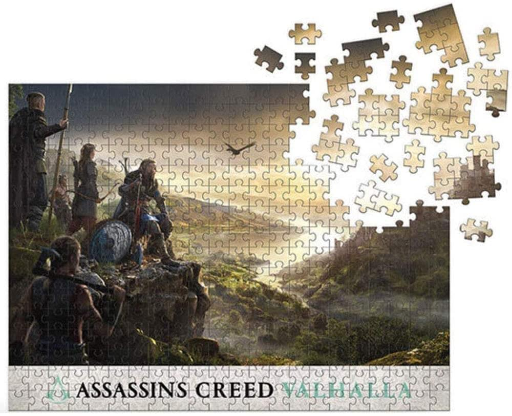 Assassin's Creed Valhalla: Raid Planning 1000 Piece Jigsaw Puzzle