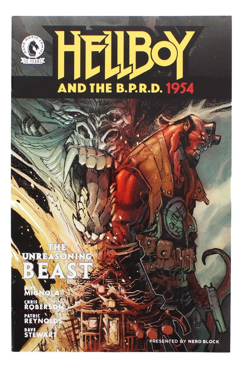 Hellboy and the B.P.R.D.1954 #3: Unreasoning Beast (Nerd Block Exclusive Cover)