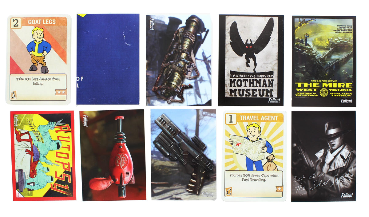 Fallout Trading Cards Series 2 | Sealed Hobby Box | Contains 24 Unopened Packs