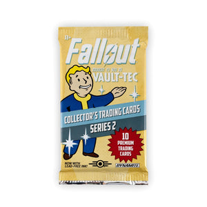 Fallout Trading Cards Series 2 | Sealed Blister Pack | Contains 10 Random Cards