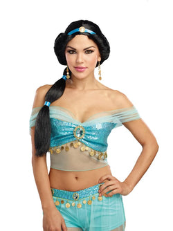 Harem Princess Adult Costume Wig