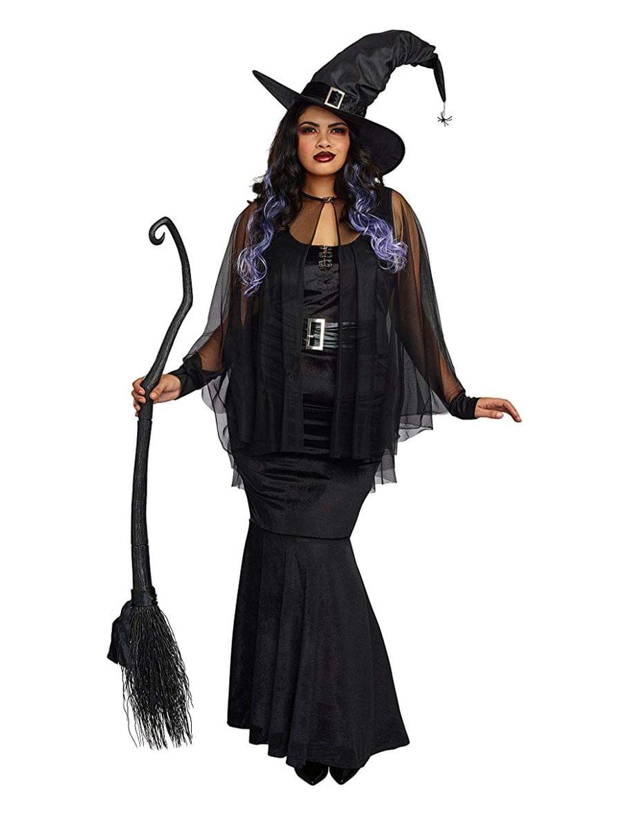 bewitching beauty women's costume - black - plus-size - toynk toys