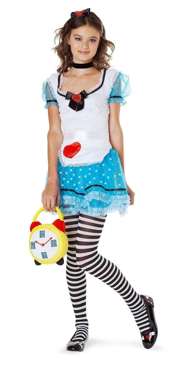 Wonderland Delight Light Up Costume Teen Adult
