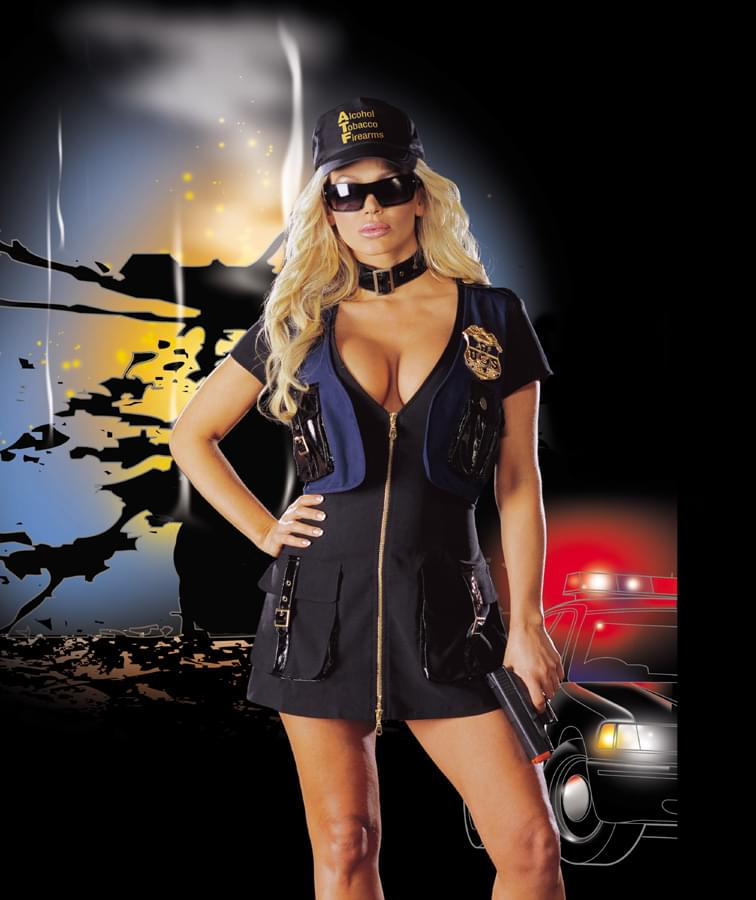 Sexy Ann Munition Adult Costume Medium