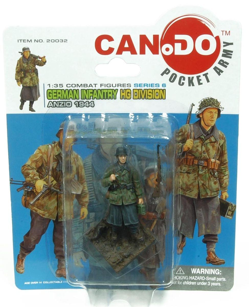 1:35 Combat Figure Series 6 German Infantry Hg Anzio 1944 Figure A