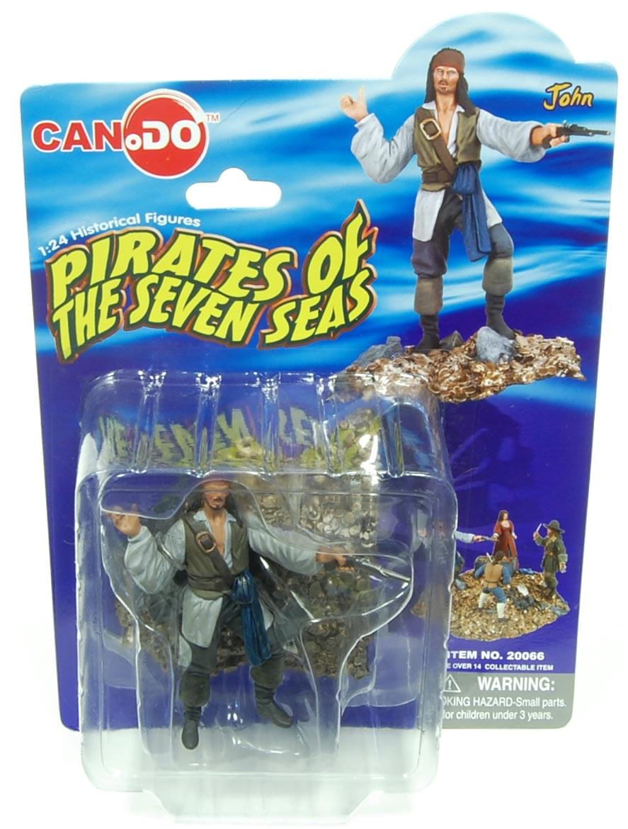 1:24 Scale Historical Figures Pirates Of The Seven Seas Figure A John