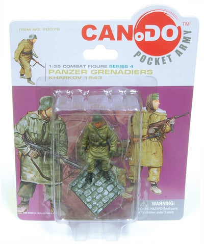 1:35 Combat Figure Series 4 Panzer Grenadiers Kharkov 1943 Set Of 4
