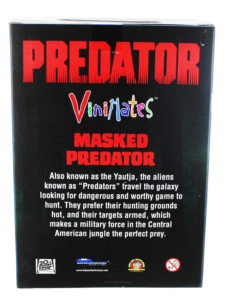 Diamond Select Vinimates Masked Predator Nerd Block Exclusive Vinyl Figure