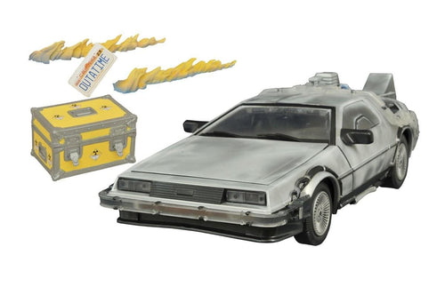 Back To The Future 2 1/15th Scale DeLorean Time Machine w/ Lights & Sounds