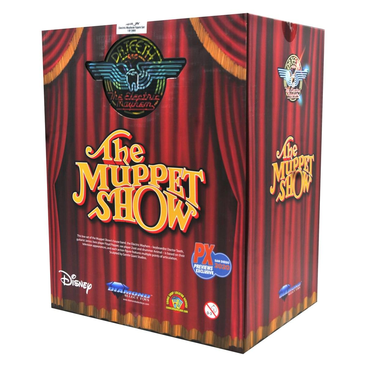 The Muppets Exlcusive Electric Mayhem 5-Piece Action Figure Box Set