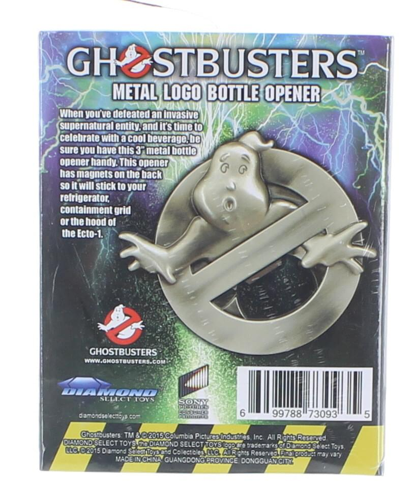 Ghostbusters Metal Logo Bottle Opener