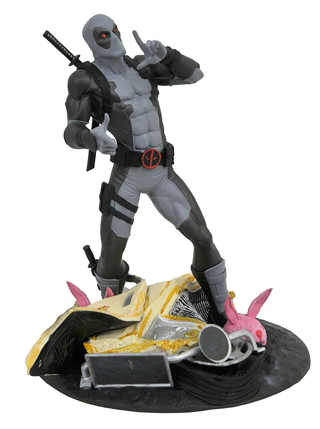Marvel Gallery Exclusive 10 Inch PVC Statue | X-Force Taco Truck Deadpool