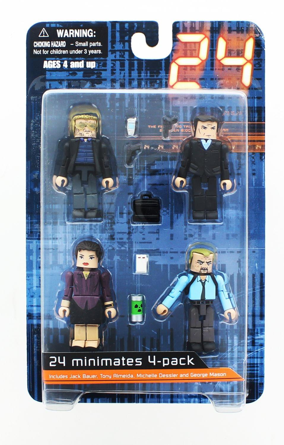 24 Season 2 Minimates Four Figure Box Set