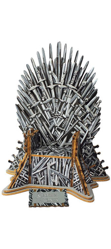 Game of Thrones Iron Throne 56 Piece 3D Monument Wood Puzzle