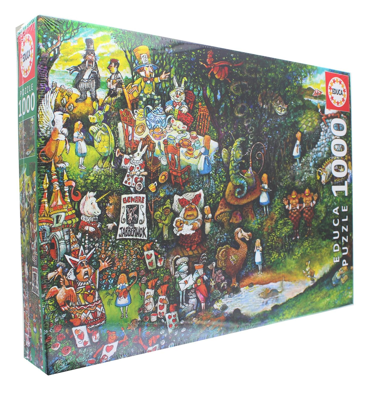 Alice in Wonderland 1000 Piece Jigsaw Puzzle