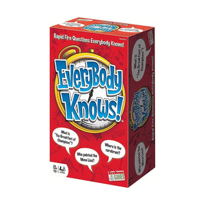 Everybody Knows Card Game