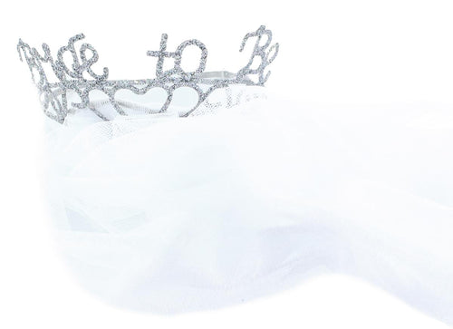 Bride to Be Veil & Sparkle Tiara