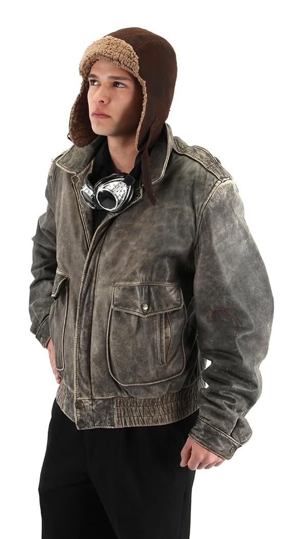 Lined Aviator Adult Costume Hat
