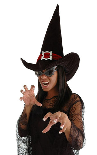 Witch Black Adult Costume Hat