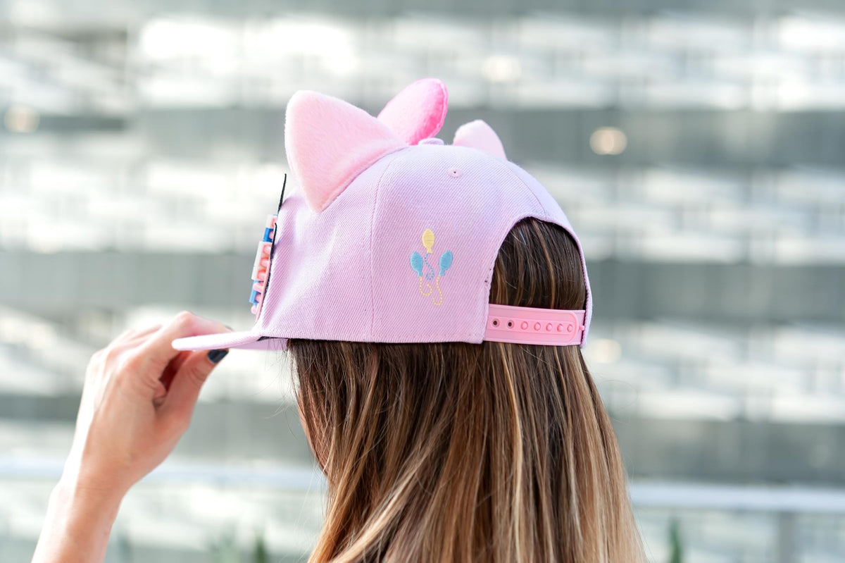 My Little Pony Pinkie Pie Snapback Hat / Cap with Bricky Blocks for Girls