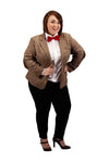 Doctor Who 11th Dr Women's Costume Plus Size Jacket
