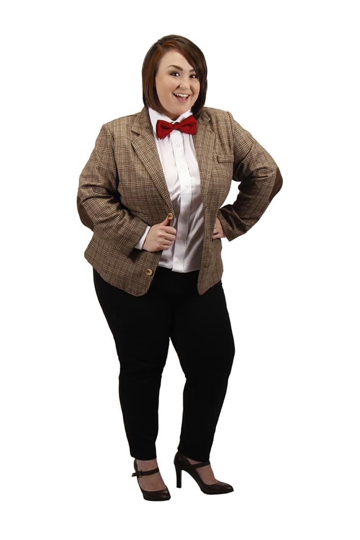 1d8cc3f338 Doctor Who 11th Dr Women s Costume Plus Size Jacket