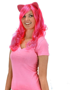 My Little Pony Pinkie Pie Adult Costume Wig W/Ears