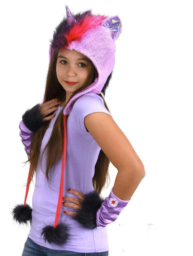 My Little Pony Twilight Sparkle Hoodie Hat Costume Accessory