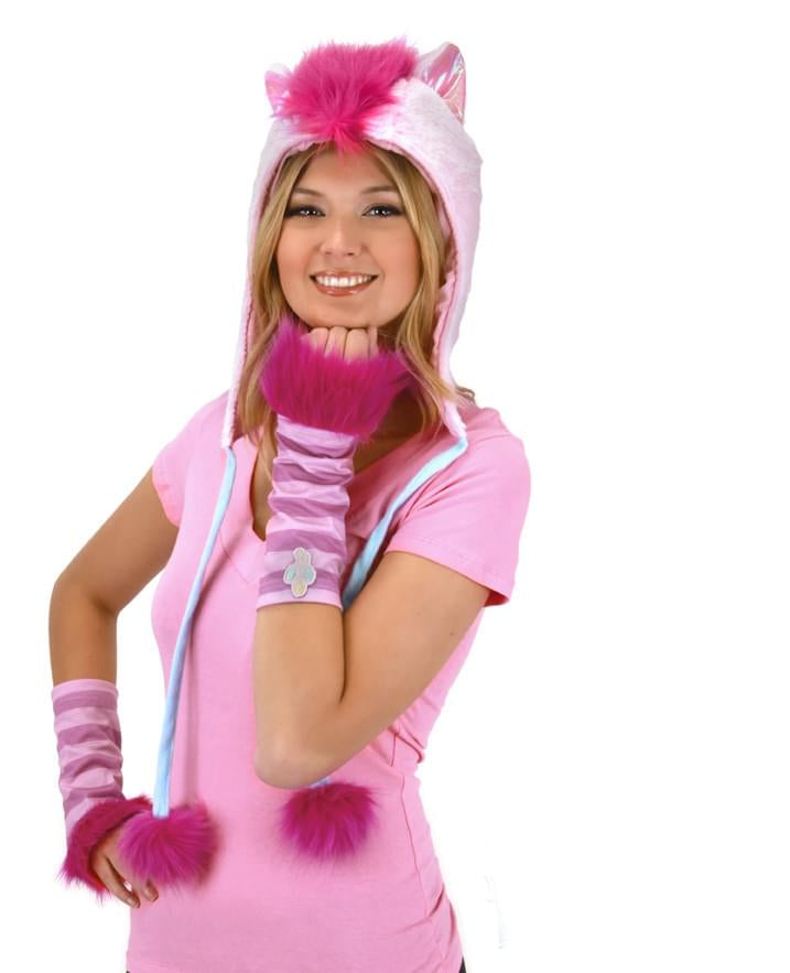 My Little Pony Pinkie Pie Hoodie Hat Costume Accessory